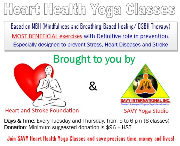 Heart Health Yoga Classes
