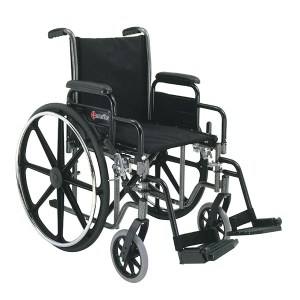 N421 Steel Wheelchair