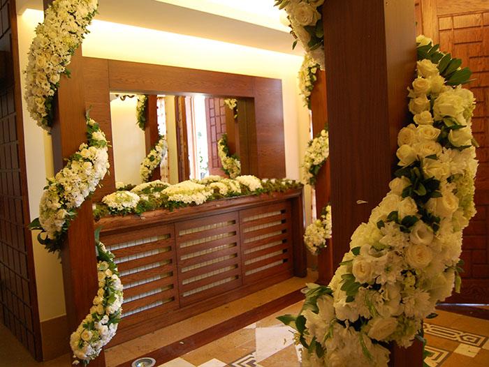 House Decorations Bekaa Lebanon by Sawaya Flowers