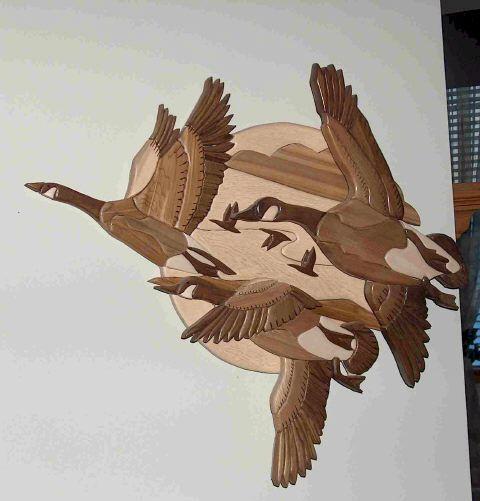 Wood Intarsia Patterns