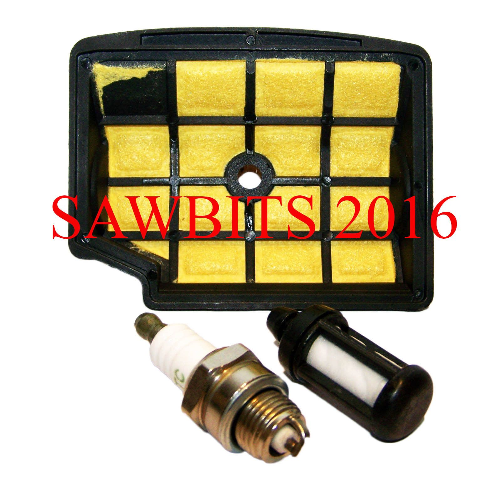 hight resolution of compatible stihl 020t ms200 ms200t air filter fuel filter spark plug service