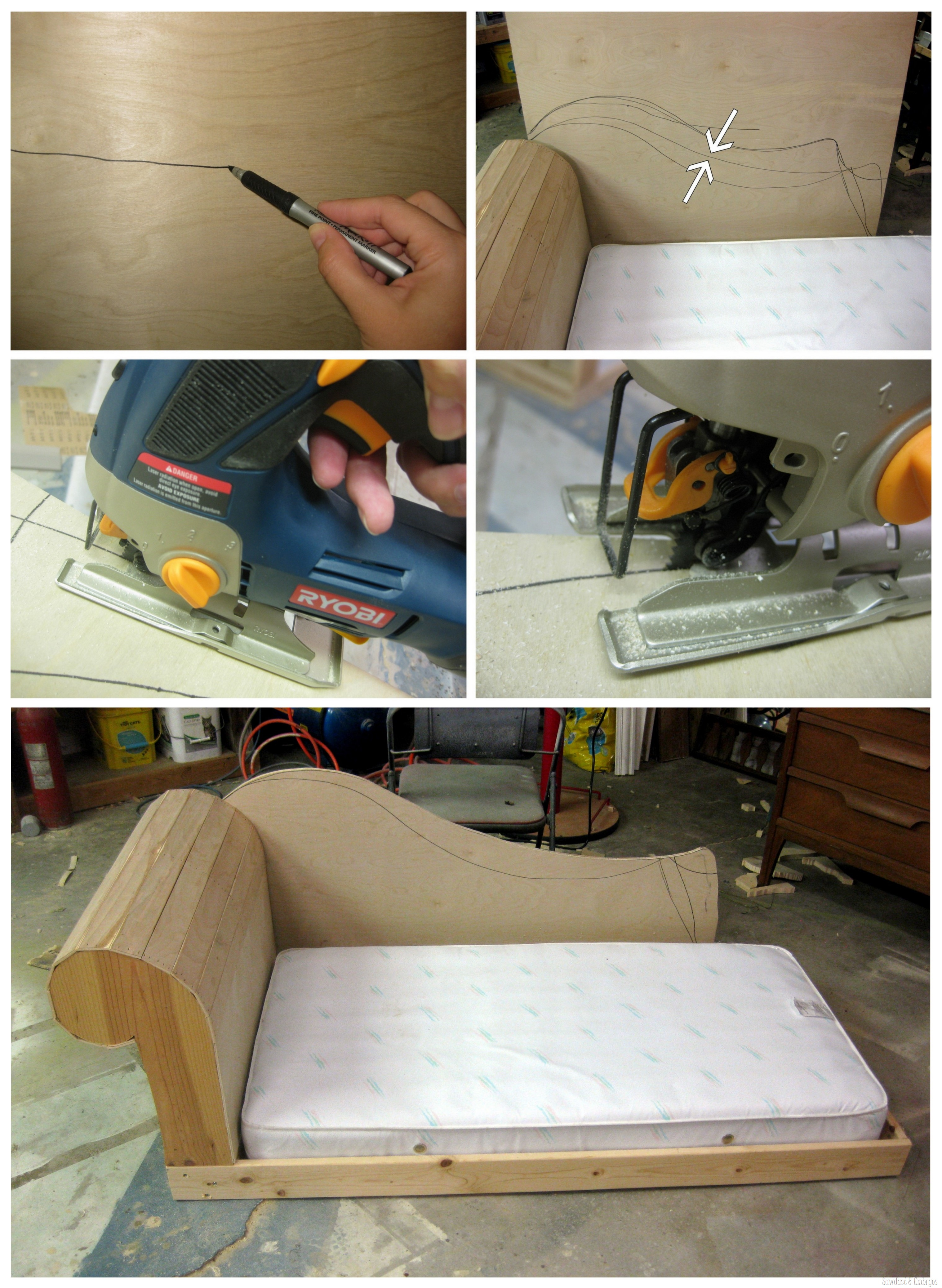 sofa glue band muji beads review diy toddler bed fainting couch part 2 reality daydream