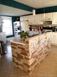 Adding stone to the breakfast bar! - Reality Daydream