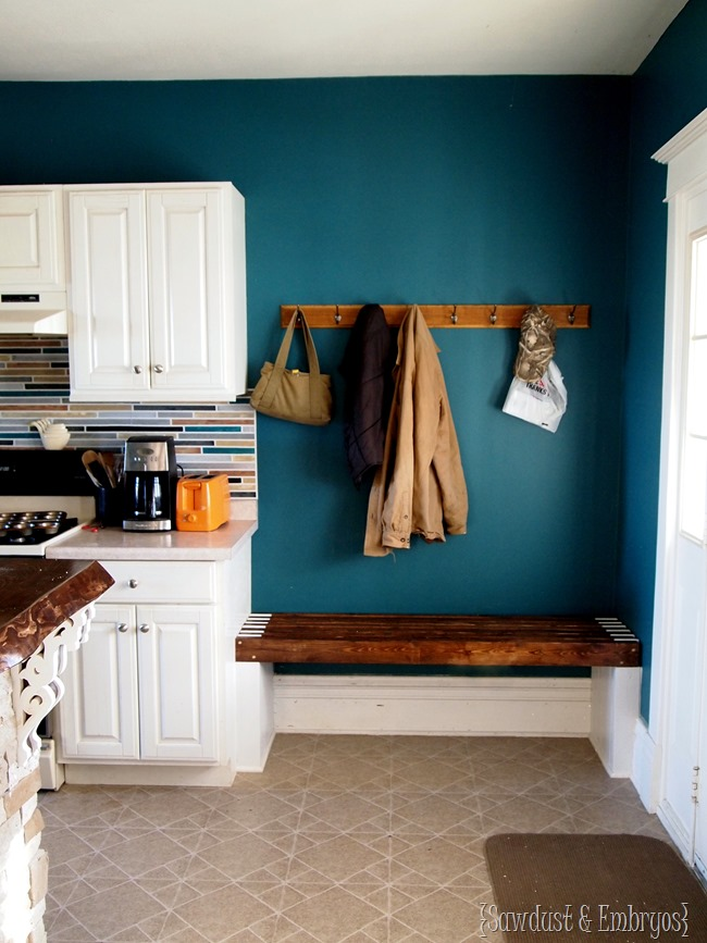 Built In Mudroom Bench Kitchen Reality Daydream