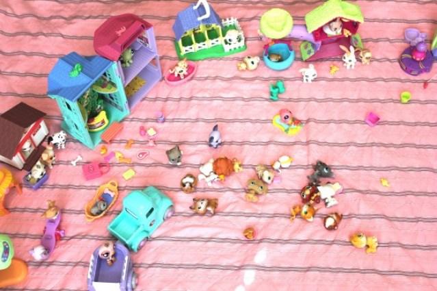 Toy Storage - Play Mat