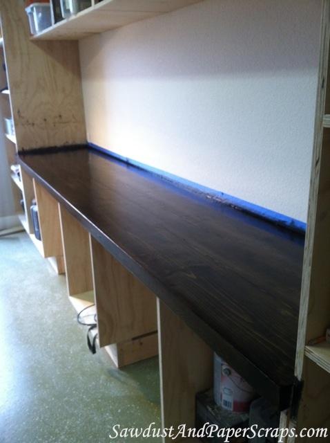 Building wood Workshop Countertops