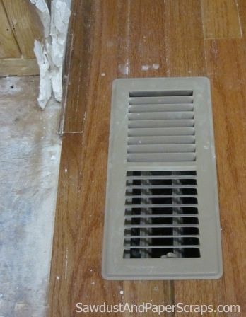 How To Keep Vents Clean During Demolition Sawdust Girl 174