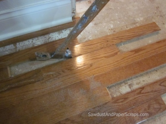 Patching Wood Floors