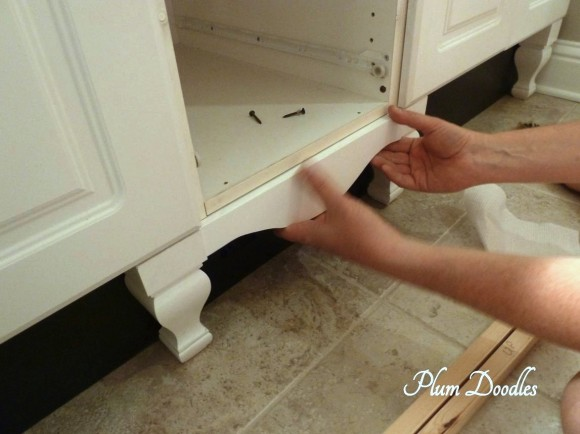 Make A Bathroom Vanity Look Like A Custom Piece Of Furniture