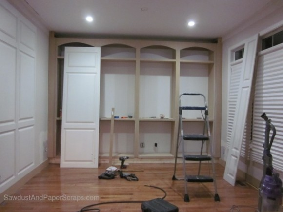 Installing IntriG wainscoting