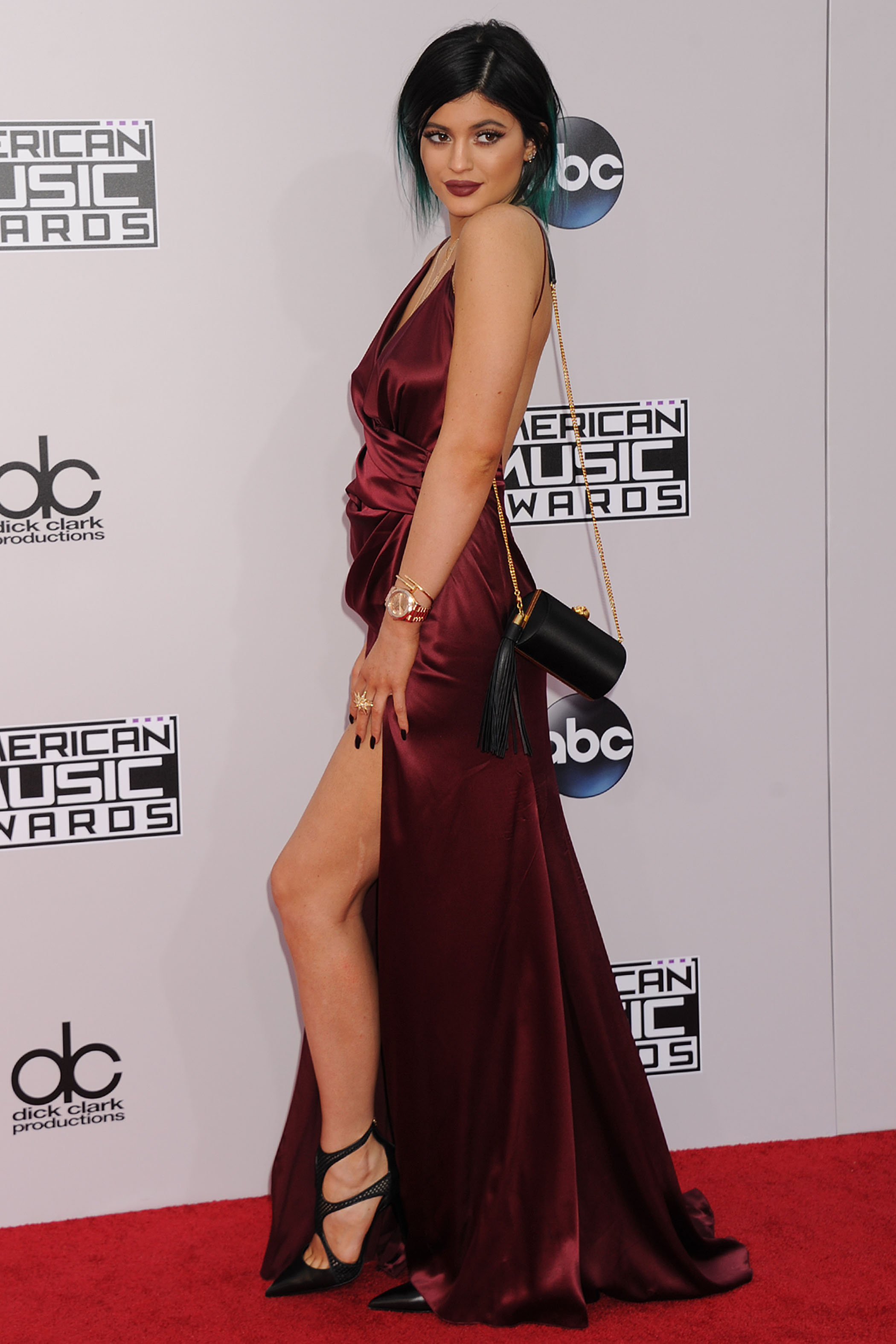 Kylie Jenner 2014 American Music Awards LA 5 SAWFIRST