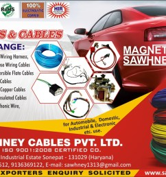 we are one of the prominent manufacturers suppliers and exporters of a wide range of wiring harness solenoid switches and pvc wires and cables  [ 1891 x 1183 Pixel ]