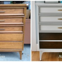 A Mid Century Dresser for a Mid Century Girl