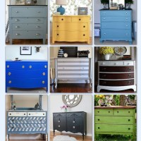 Thrift to Designer Dresser Upgrades on Hometalk