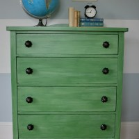 Vintage Dresser in Tavern Green