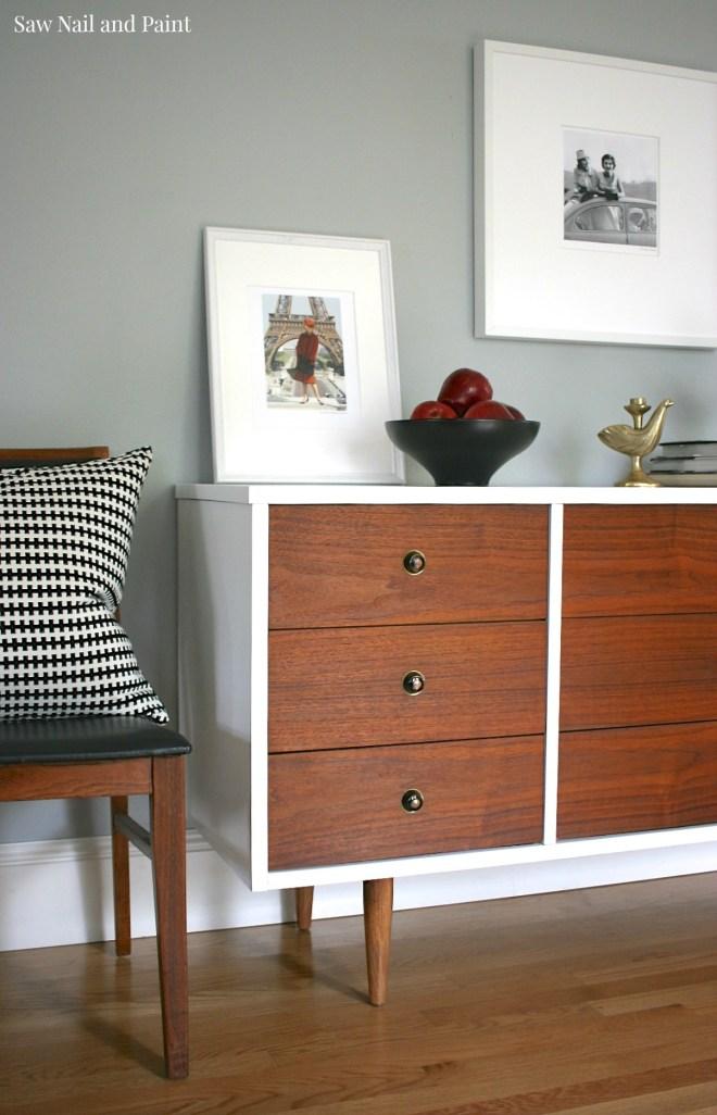 Bassett Mid Century Dresser