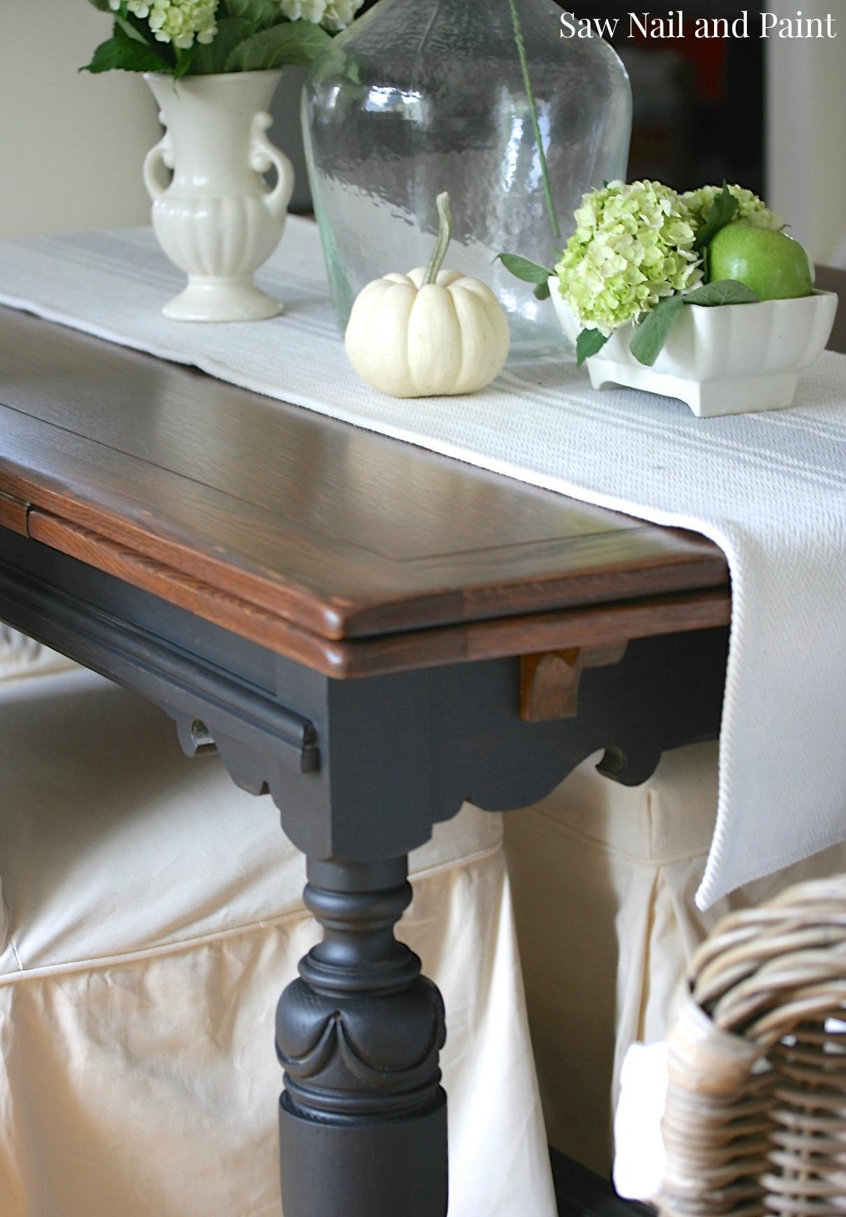 Vintage Draw Leaf Table Top