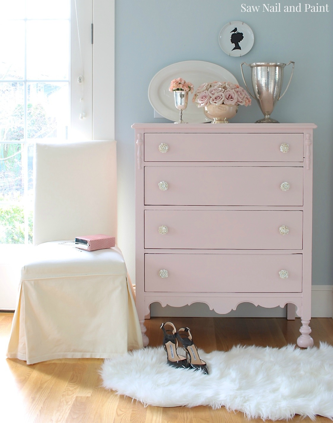 Blush Dresser