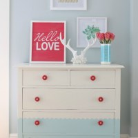 Create a Scallop Pattern on a Dresser with FrogTape