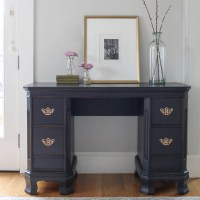 "Vintage Desk in ""Antique Black"""