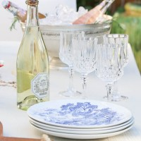 Rosé White and Blue – Relaxed Summer Entertaining