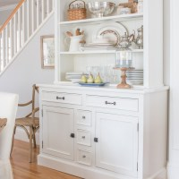 Knotty Pine China Hutch Makeover