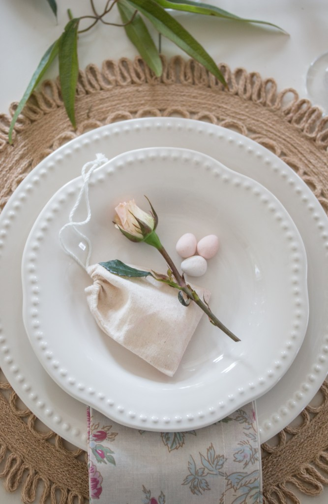 Romantic And Natural Spring Tablescape Saw Nail And Paint