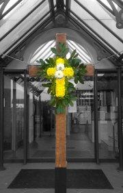 Easter Morning cross - Click for full size