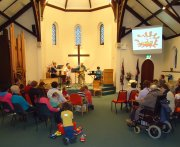 Messy Church worship - Click for full size