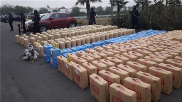 صورة تنسيق أمني بين المغرب وفرنسا وإسبانيا يقود إلى حجز 26 طنا من المخدرات