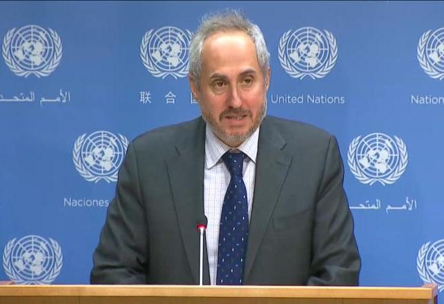دوجاريك: نحن على علم بإضراب المعتقلين الفلسطينيين ونتابع التطورات عن كثب