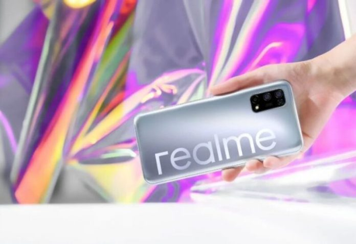 Realme is trying to compete in the smartphone market