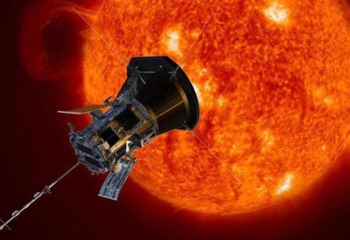 Parker probe is approaching the sun