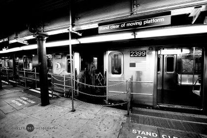 Battery Park, Manhattan, New York Subway Train