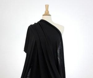 JerseyWool – Black