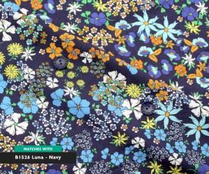 Floral Dance – Navy