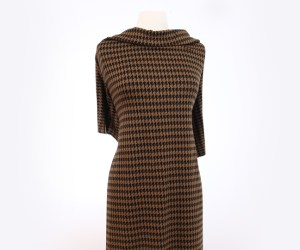 Houndstooth – Spice Brown