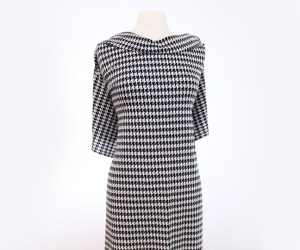 Houndstooth – White
