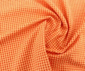 Seersucker – Apricot