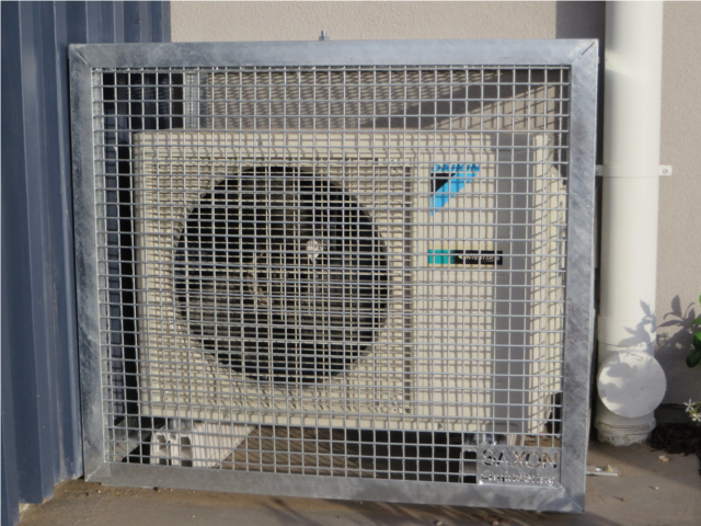 air conditioner cage intermatic pool timer wiring diagram ac condenser cages – saxon engineering