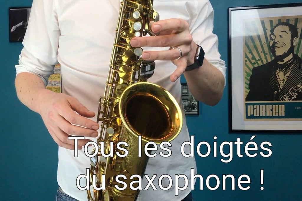 Tous les doigtés du saxophone