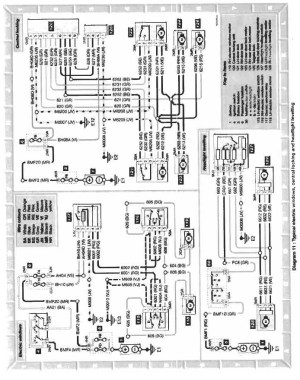 engine loom (wiring diagram)  Saxperience  Citroen Saxo