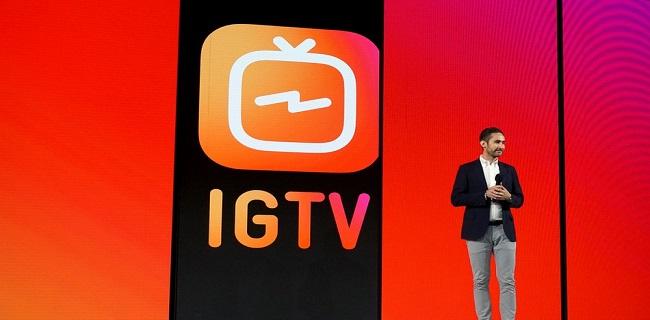 انستاگرام تلویزیونش (Instagram TV) را راه اندازی کرد