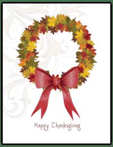 TK 09b - leaf wreath