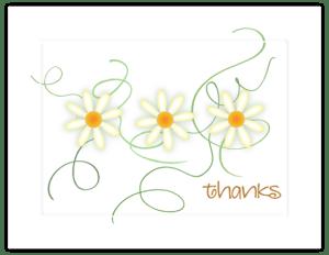 FL 48a - daisy trio swirl