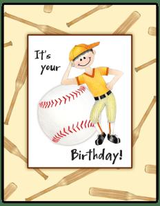 BB 27 - baseball kid