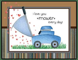 FL 82 - lawnmower hearts