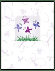 FL 22 - purple butterflies