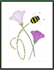 FL 44a - bumblebee swirl