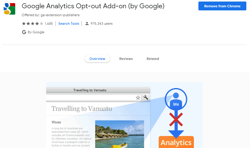 Google Analytics Opt-out chrome
